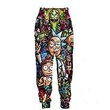 TBA New Printed 3D Joggers Pants Anime Printed Men Women Unisex Sweatpants Trousers (XXXL)