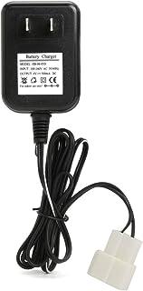 Adaptador de corriente Adaptador de cargador de batería de litio de CA de 6 V CA Fuente de alimentación EE. UU. Para Avigo Kid Juguete Equilibrio del coche eléctrico Batería 500MA