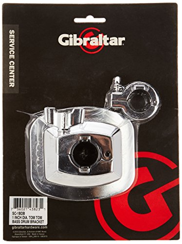 Gibraltar SC-1BDB Bass Drum Bracket Accepts 1 Inch Tubes