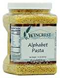 Alphabet Pasta Noodles - 3 Lb Tub