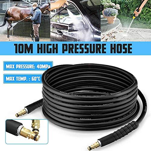 Yongenee 10M de alta presión de agua de desagüe for lavadoras Alcantarillado manguera FOR for Karcher K2 K3 K4 K5 Altas arandelas de la presión