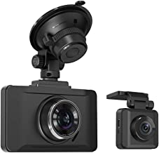 Dual Dash Cams Sony Sensor, TaoTronics 1080P FHD Front and Rear Dash Cam with Night Version, 3in LCD Car Camera Recorder, 140° Wide Angle, G-Sensor, WDR,Parking Mode (Renewed)