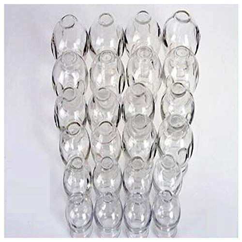 Best Prices! Glass Fire Cupping Jars, Cupping Glass, Thickened Glass Vacuum Cup, Body Massage Muscle...