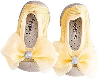 1 Pair Baby Non-Slip Socks Cute Bowtie Newborn Indoor Sock Shoes Toddler Children Cotton Floor Socks