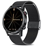 Smart Watch for Android iOS Phones (Receive/Make Calls,10 Sport Modes,Bluetooth) Smart Watches with Step Sleep Tracker,App Message Reminder,Music Control,IP67 Waterproof SmartWatch for Men