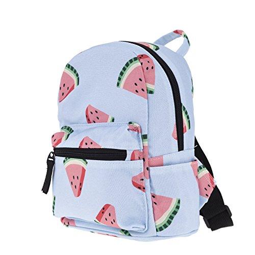 JameStyle26 Print Flamingo donut kinderrugzak kids rugzak kleuterschool konijntje vrije tijd schooltas backpack tas meisje jongen meloen avocado
