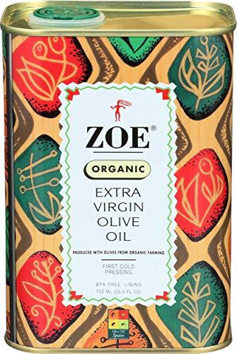 Zoe, Organic Extra Virgin Oil Olive, 25.5 Ounce