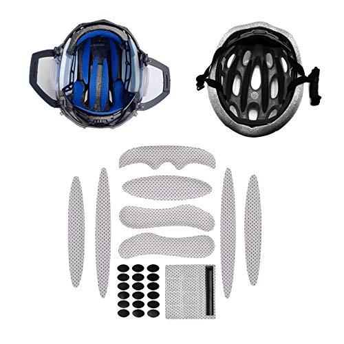 Sharplace 2x27pcs / Set Kits de Acolchado para Casco de Bicicleta Forro...