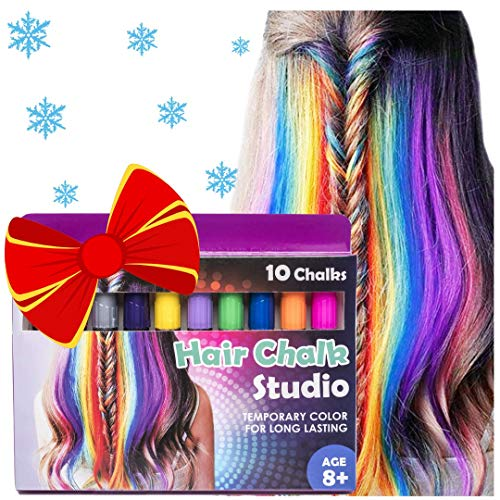 Hair Chalk, Temporary Hair Color, Teenage Girl Gifts, Hair Chalk for Girls, Temporary Hair Dye for Kids, Hair Dye for Kids, Hair Color for Kids, Birthday Gifts for Girls