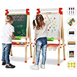 Best Art Easels - Joyooss Kids Wooden Easel with Extra Letters Review