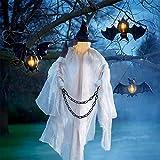 MWKL Decoración de Ambiente de Halloween, Fantasma de Bruja Colgante de casa de Campo, día Sagrado d...