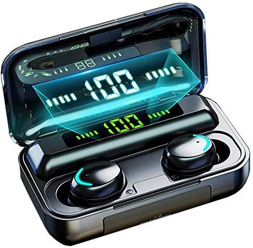Auricolari Bluetooth Senza Fili, Wireless Sportivi in Ear Cuffie con Custodia di Ricarica Portatile,cuffie stereo sportive 3D,Auricolare con Mic-Incorporato Tocca Controllo per iPhone/Airpods Pro