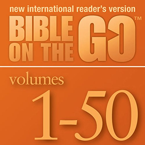 Bible on the Go, Volumes 1-50 from the Old and New Testaments audiobook cover art