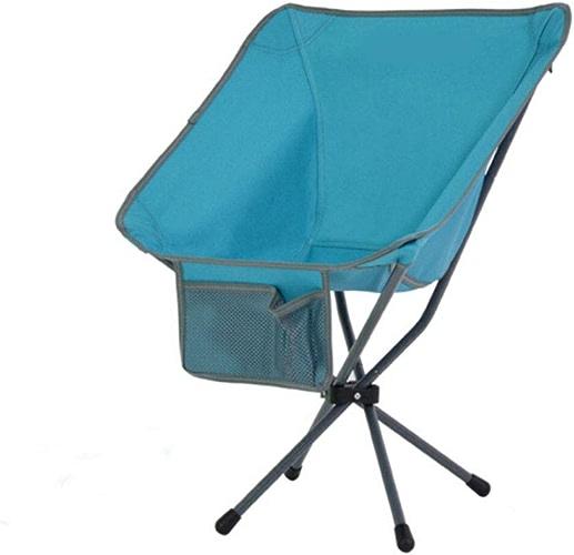 LHLCG Chaise Pliante extérieure Sac à Dos portable Mini Dossier Facile à Installer, chaises de Camping pour la Plage de pêche