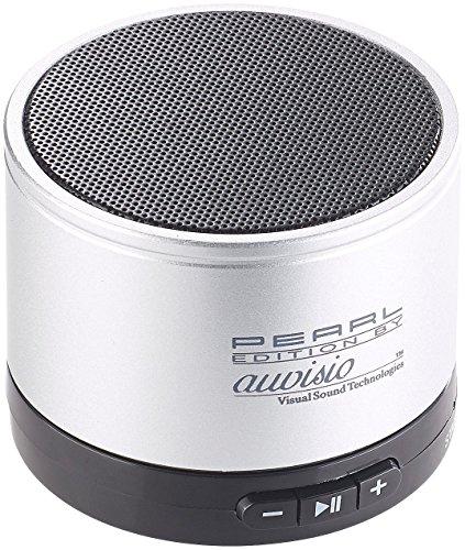 auvisio Lautsprecher für Handy: Mobiler Aktiv-Lautsprecher mit Bluetooth 2.1, Metallgehäuse, 4 Watt (Kleine Lautsprecher)