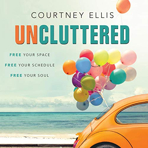 Uncluttered audiobook cover art