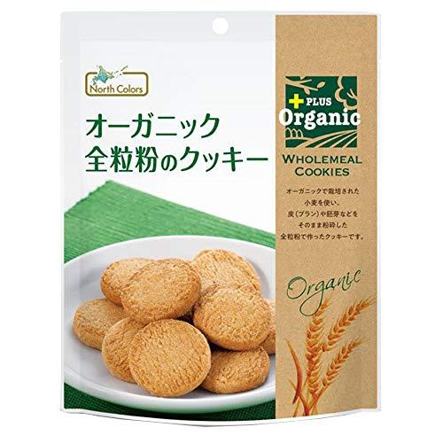 ノースカラーズ  オーガニック全粒粉のクッキー 70g  12パック