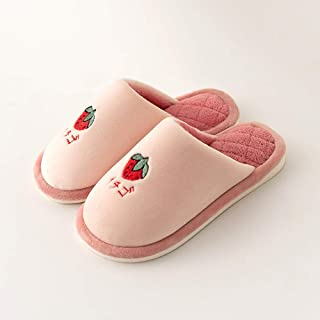 Children's cotton slippers _ autumn and winter children's cotton slippers soft bottom cute home Ultra Soft Comfy Fluffy Wa...