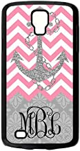 Zig Zag Hot Pink Chevron Gray Anchor Gray Retro Pattern Personalized Custom Phone Case Best Plastic Cover Case For Samsung Galaxy S4 Active I9295