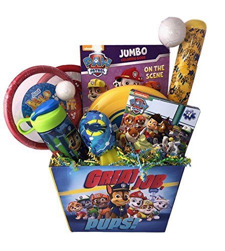 Deluxe Paw Gift Basket Toys Games Boys...