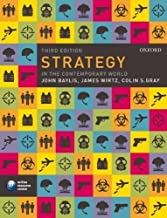 Strategy in the Contemporary World: An Introduction to Strategic Studies 3rd (third) Edition by Baylis, John, Wirtz, James J., Gray, Colin S. (2010)