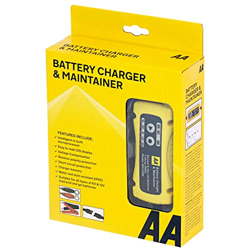 AA 1.5 Amp 6 V/12 V Car Battery ...