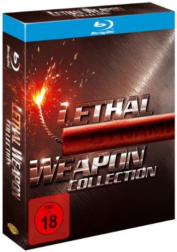 Produktbild von Lethal Weapon 1-4 - Collection [Blu-ray]