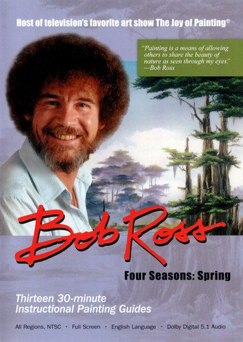 Bob Ross The Joy of Painting: Spring Collection 3 DVD Set