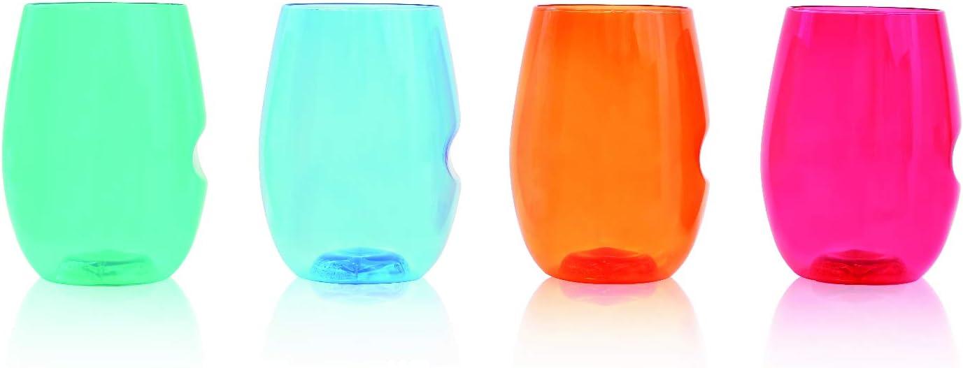 Govino Flexible Shatterproof Jewel Wine Tone 16-ounce In a popularity Glasses Denver Mall