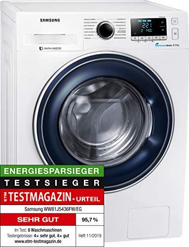 Samsung WW81J5436FW/EG Waschmaschine Frontlader/A+++/1400...