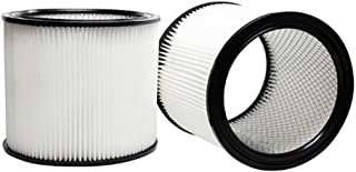 SAQIMA Filter for Shop Vac 90304 Wet Dry Vacuums Cleaner Filter Fits Replacement Accessories Filters