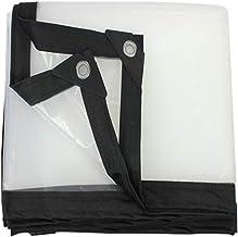 LIXIONG dekzeil transparant verdikte PE koudebescherming isolatie regendoek, 23 maten aanpasbaar (kleur: helder, grootte: ...