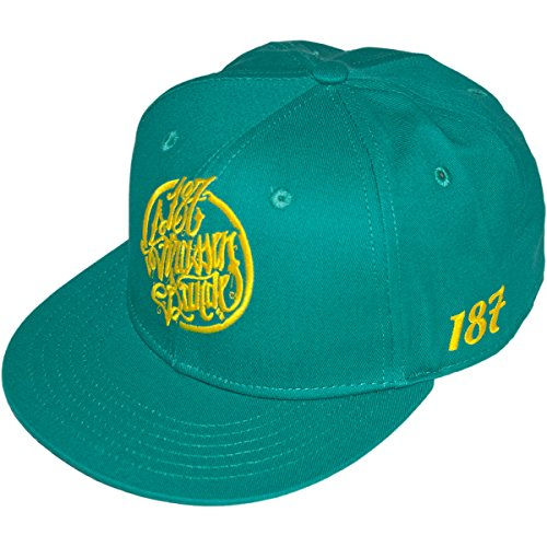 187 Strassenbande Original Summer Edition Snapback Cap Green/Yellow verstellbar