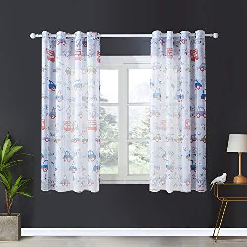 cortinas habitacion translucidas doble cara