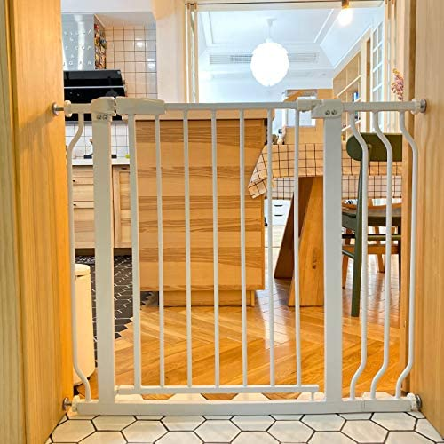 BalanceFrom Easy Walk Thru Safety Gate for Doorways and Stairways with Auto Close Hold Open product image