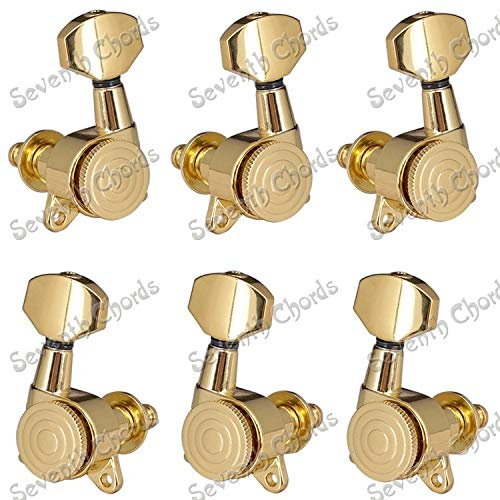 Guitar Parts A Brand Cheap Sale Venue Set 6 Pcs Tuning Cash special price Plated String Gold Locked