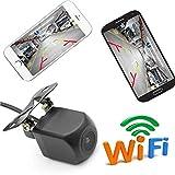 GOFORJUMP WiFi caméra de recul caméra de recul Vue arrière 12V Mini Corps étanche tachygraphe...