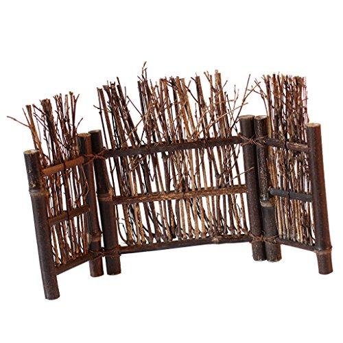 Baoblaze Valla Kongfu Tea Ceremony Valla de Bambú Natural Decoración en Miniatura 9 Tipos - 3, S