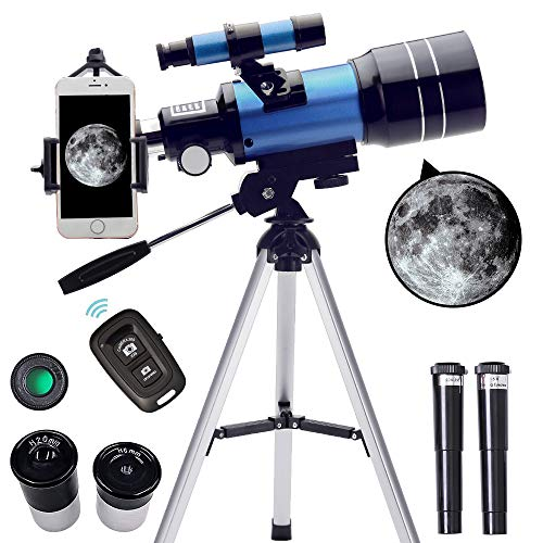 ToyerBee Telescope for Kids&Beginners, 70mm Aperture 300mm Astronomical Refractor...