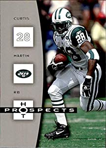 2006 Hot Prospects #67 Curtis Martin NEW YORK JETS PITTSBURGH PANTHERS PITT NFL Football Card