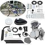 Ambienceo 80cc 2 Tiempos Ciclo de Pedal Gasolina Gas Motor Kit de conversión de Bicicleta para...