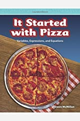It Started with Pizza: Level 5 (Mathematics Readers) Paperback