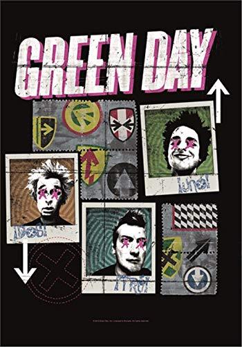 Green Day Fabne - Póster con diseño de Mono