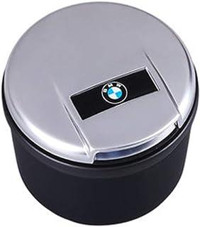 con el logotipo cenicero colector de polvo Cenicero for coche desmontable y lavable for decorar interior del coche for Jaguar metal del coche cenicero con luz LED de Noche Color : A Cenicero