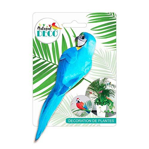 STC Déco Plantes – Medium Oiseau Bleu CD3825