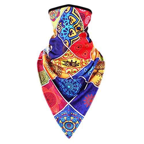 Crème solaire bandanas foulard masque extérieur serre-tête serre-tête serre-tête bandeau-A35