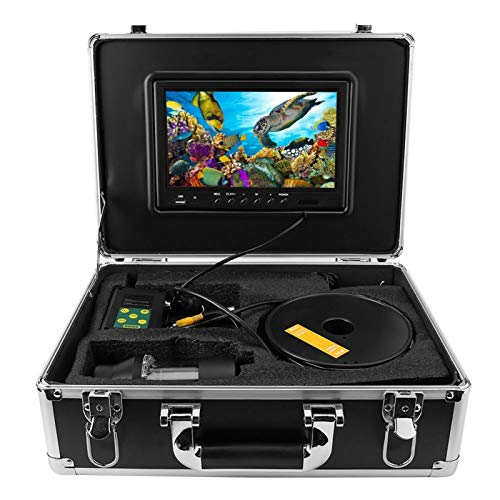 FOLOSAFENAR Cámara de Video de Pesca Balance de Blancos automático Visor de Sol(European Standard (100-240v))