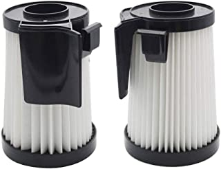 EZ SPARES 2Pcs Replacement for Eureka DCF-10 & DCF-14 Filter Hepa Fits Optima Series Replacement Attachment Compatible with Part # 62731 & 62396