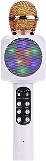FMOGE 1816 Micrófono Inalámbrico Bluetooth Micrófono Karaoke Micrófono K Canción Micrófono De Bolsillo Altavoz Micrófono p...
