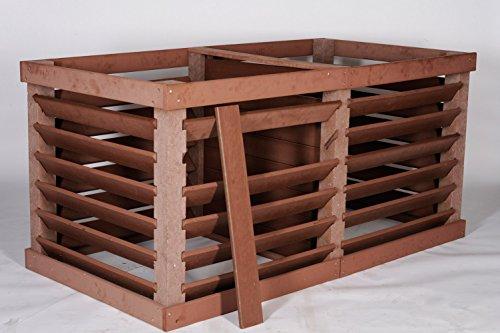 Planex Syntal Kunststoffe Vario Komposter Doppelbox 2 x 1000 Liter